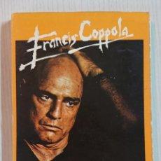 Cine: FRANCIS COPPOLA · POR CESAR SANTOS FONTENLA · EDICIONES JC, 1980. Lote 195402770