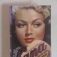 Cine: LANA · THE LADY, THE LEGEND, THE TRUTH · BY LANA TURNER · POCKET BOOKS, NEW YORK, 1983. Lote 195454922