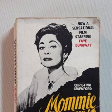 Cinema: MOMMIE DEAREST · BY CHRISTINA CRAWFORD, JOAN CRAWFORDS ADPOTED DAUGHTER. Lote 196049616