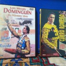Cine: LOTE DE 2 DVD TOREROS. Lote 198813265