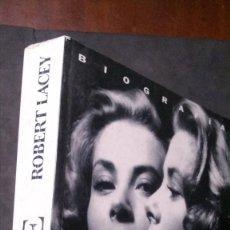 Cine: GRACE-ROBERT LACEY-PRIMERA EDICIÓN-1995-GRACE KELLY. Lote 201243757