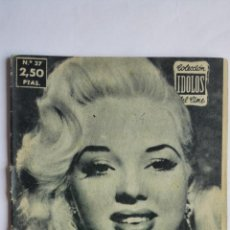 Cinema: DIANA DORS - COLECCION IDOLOS DEL CINE, AÑO II - Nº 37, 1958. Lote 202431175