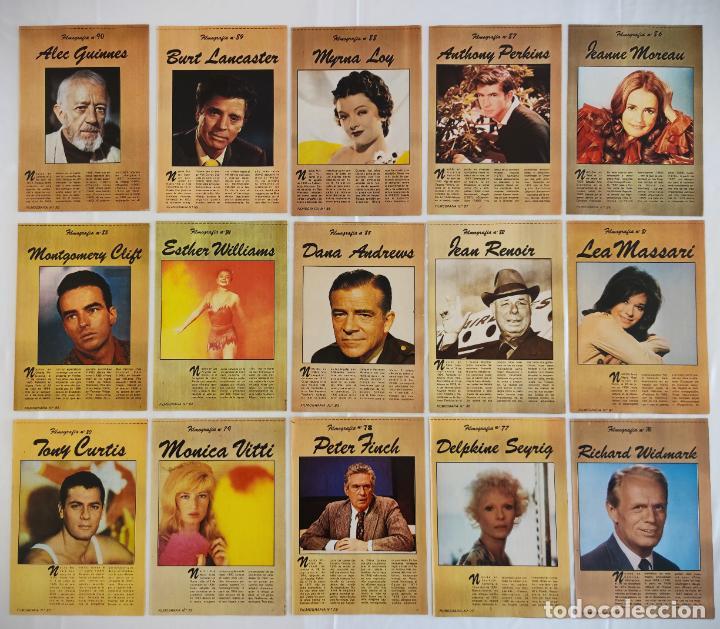Cine: 181 EJEMPLARES DE FOTOGRAMAS ALBUM DE Y FILMOGRAFIA - DEL1 AL 181 MENOS Nº 1 Y Nº 8 - VER FOTOS LOTE - Foto 8 - 202806406