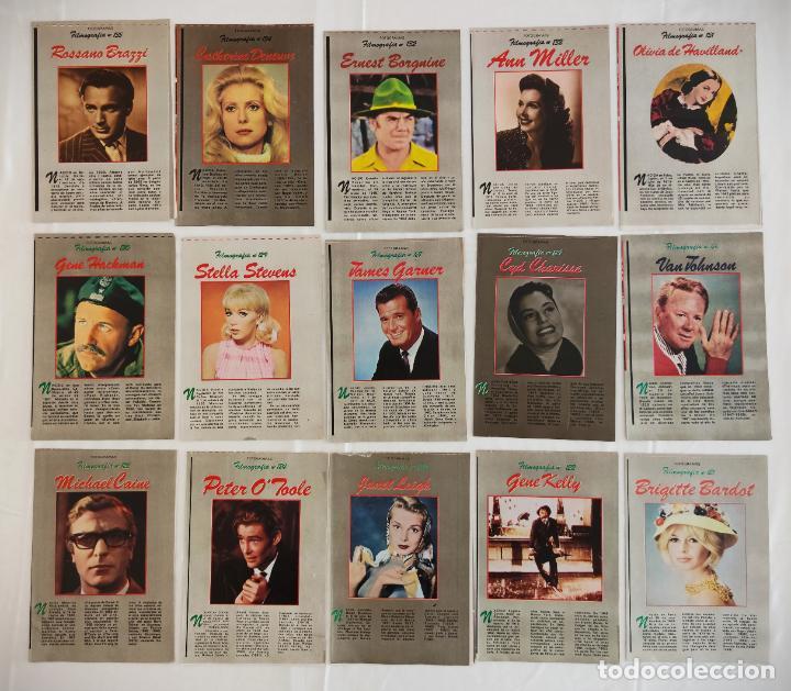 Cine: 181 EJEMPLARES DE FOTOGRAMAS ALBUM DE Y FILMOGRAFIA - DEL1 AL 181 MENOS Nº 1 Y Nº 8 - VER FOTOS LOTE - Foto 11 - 202806406