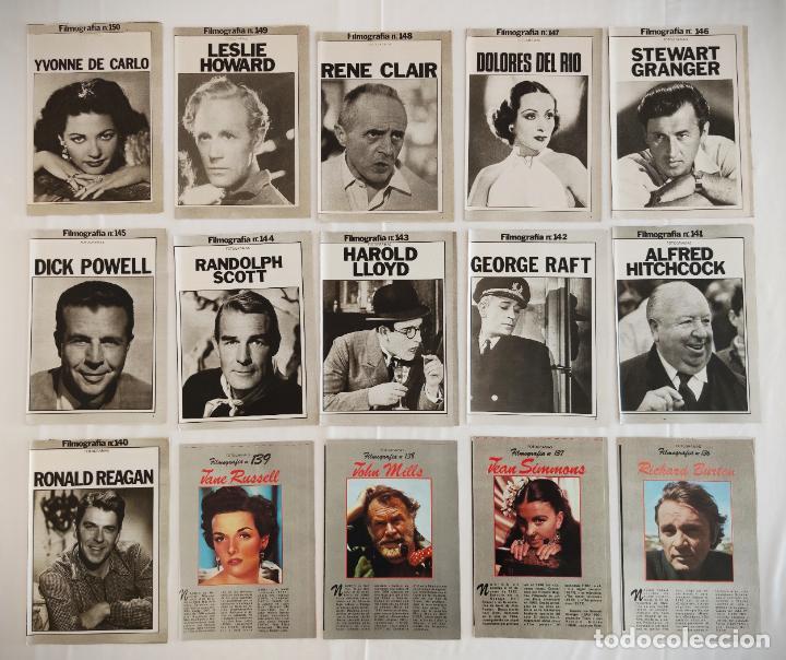 Cine: 181 EJEMPLARES DE FOTOGRAMAS ALBUM DE Y FILMOGRAFIA - DEL1 AL 181 MENOS Nº 1 Y Nº 8 - VER FOTOS LOTE - Foto 12 - 202806406