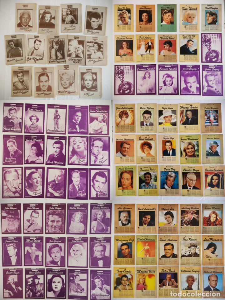 181 EJEMPLARES DE FOTOGRAMAS ALBUM DE Y FILMOGRAFIA - DEL1 AL 181 MENOS Nº 1 Y Nº 8 - VER FOTOS LOTE (Cine - Biografías)