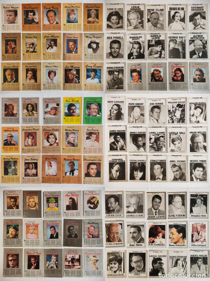 Cine: 181 EJEMPLARES DE FOTOGRAMAS ALBUM DE Y FILMOGRAFIA - DEL1 AL 181 MENOS Nº 1 Y Nº 8 - VER FOTOS LOTE - Foto 2 - 202806406