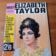 Cine: MEET ELIZABETH TAYLOR. EN INGLÉS.. Lote 204749272