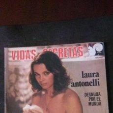 Cine: LAURA ANTONELLI -VIDAS SECRETAS-100 PAGINAS TOTALMENTE ILUSTRADAS POSTER CENTRAL-1975-Nº 7. Lote 205735170