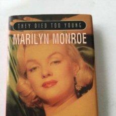 Cine: MARILYN MONROE- LIBRITO 11X8 CM. INGLÉS- 1995. Lote 211853511