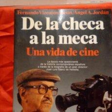 Cine: JOSE LUIS SAENZ DE HEREDIA DE LA MECA A LA CHECA UNA VIDA DE CINE. Lote 213215201