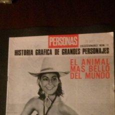 Cine: AVA GARDNER-EL ANIMAL MÁS BELLO DEL MUNDO-24 PAGINAS. Lote 214657140