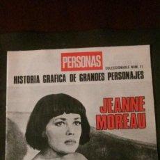 Cinema: JEANNE MOREAU-EN BUSCA DEL AMOR PERDIDO-24 PÁGINAS. Lote 214658521