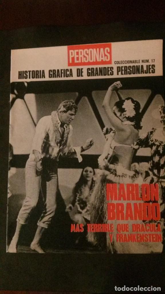 MARLON BRANDO-MÁS TERRIBLE QUE DRÁCULA Y FRANKENSTEIN-24 PÁGINAS (Cine - Biografías)