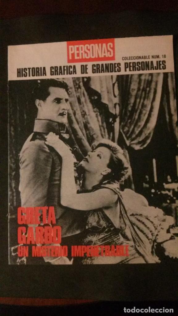 GRETA GARBO-UN MISTERIO IMPENETRABLE-24 PÁGINAS (Cine - Biografías)