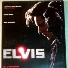 Cinema: DVD ELVIS EL COMIENZO. ELVIS PRESLEY - JAMES STEVEN SADWITH - DESCATALOGADA. Lote 215679213