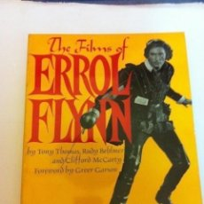 Cinéma: THE FILMS OF ERROL FLYNN- 222 PÁGINAS - MY BIEN CONSERVADO- AÑO 1969. Lote 216644335