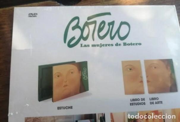 Cine: Las mujeres de Botero. Raro DVD precintado. Artika artists books - Foto 2 - 227994360