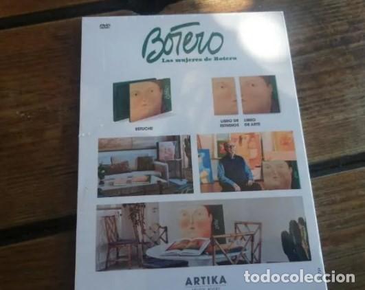 Cine: Las mujeres de Botero. Raro DVD precintado. Artika artists books - Foto 4 - 227994360