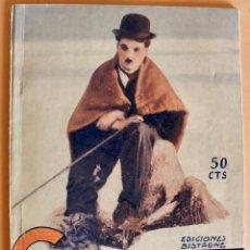 Cinema: INTERVIÚS, BIOGRAFÍA Y ANÉCDOTAS- CHARLIE CHAPLIN- CHARLOT- EDICIONES BISTAGNE. Lote 218110075