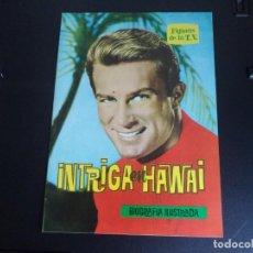 Cine: REVISTA FIGURAS DE LA T.V. INTRIGA EN HAWAI. Lote 218717965