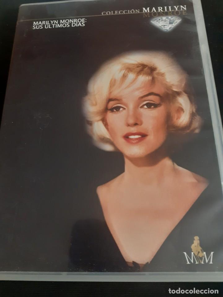 DVD DOCUMENTAL MARIYIN MONROE SUS ULTOMOS DIAS (Cine - Biografías)