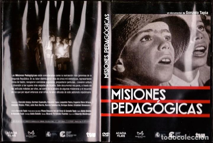 MISIONES PEDAGÓGICAS. SEGUNDA REPÚBLICA (Cine - Biografías)