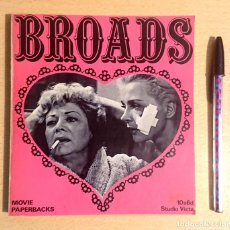 Cinéma: BROADS MOVIE PAPERBACKS · IAN & ELISABETH CAMERON · STUDIO VISTA, MOVIE MAGAZINE LIMITED, 1969. Lote 220104563