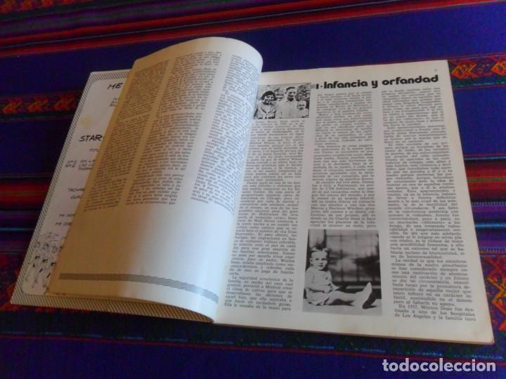 Cine: JAMES DEAN INÉDITO CON POSTAL. PRODUCCIONES EDITORIALES 1976. RÚSTICA 94 PÁGINAS. - Foto 4 - 220714040