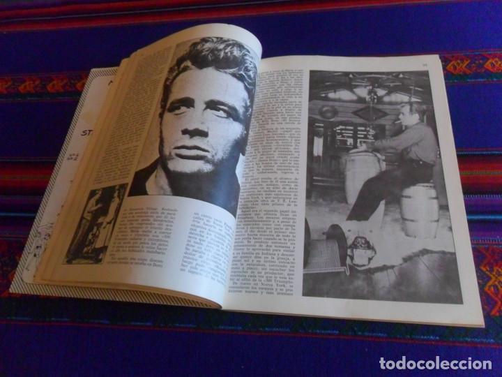 Cine: JAMES DEAN INÉDITO CON POSTAL. PRODUCCIONES EDITORIALES 1976. RÚSTICA 94 PÁGINAS. - Foto 6 - 220714040