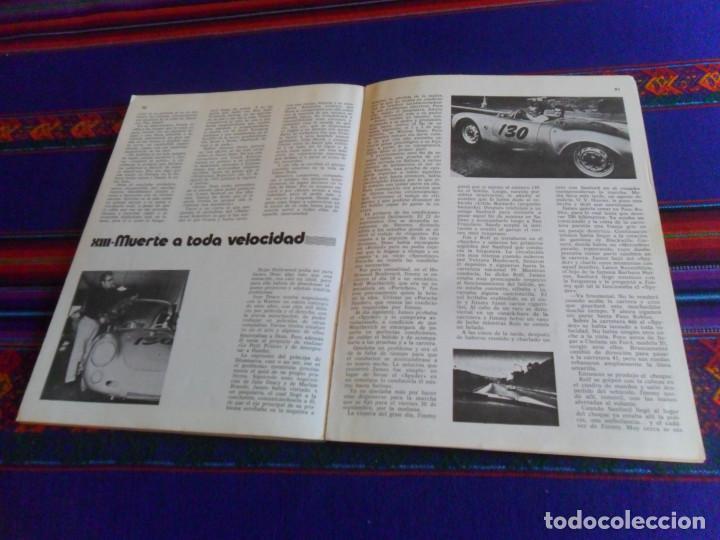 Cine: JAMES DEAN INÉDITO CON POSTAL. PRODUCCIONES EDITORIALES 1976. RÚSTICA 94 PÁGINAS. - Foto 8 - 220714040