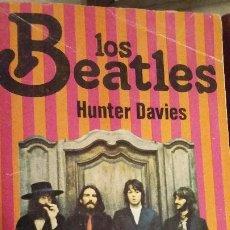 Cine: MAGNIFICO LIBRO LOS BEATLES DE HUNTER DAVIS. Lote 220818496