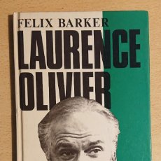 Cine: LAURENCE OLIVIER A CRITICAL STUDY · BY FELIX BARKER · SPELLMOUNT, 1984. Lote 223278480