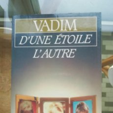 Cine: VADIM D'UNE ÉTOILE L'AUTRE EN FRANCÉS. Lote 224428753