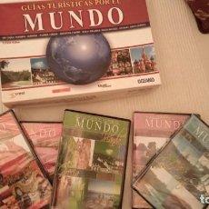 Cine: LOTE DE 15 DVD'S NUEVOS DE BIOGRAFIAS UNIVERSALES Y GUIAS TURISTICAS POR EL MUNDO. Lote 225962660