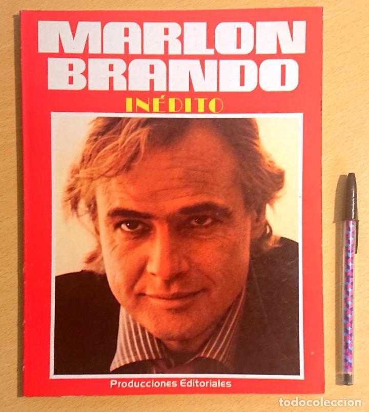 MARLON BRANDO · INÉDITO (Cine - Biografías)