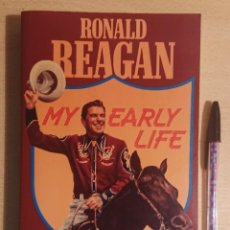 Cine: RONALD REAGAN · MY EARLY LIFE · OR WHERE'S THE REST OF ME? · SIDGWICK & JACKSON LIMITED, LONDON 1981. Lote 227059410