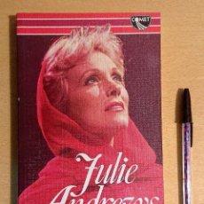 Cine: JULIE ANDREWS · ROBERT WINDELER · COMET BOOK, 1984. Lote 228030455