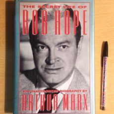 Cinéma: THE SECRET LIFE OF BOB HOPE · AN UNAUTHORIZED BIOGRAPHY BY ARTHUR MARX · BARRICADE BOOKS 1993. Lote 228163365