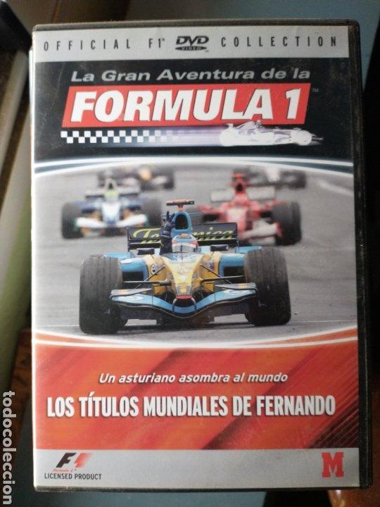 FÓRMULA 1 FERNANDO ALONSO DVD (Cine - Biografías)