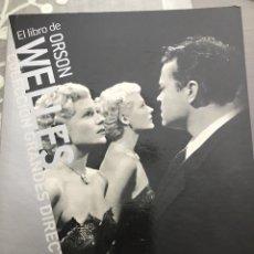 Cine: EL LIBRO DE ORSON WELLES. Lote 229725975