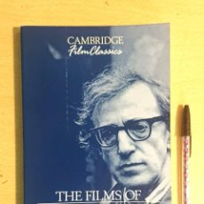 Cine: THE FILMS OF WOODY ALLEN · BY SAM B. GIRGUS · CAMBRIDGE FILM CLASSICS 1993. Lote 230005255
