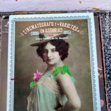 Cinema: LIBRO DE CINE CNEMATOGRAFO EN ASTURIAS 1896-1915. Lote 230087280