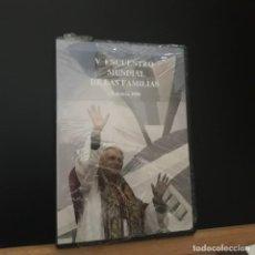 Cine: BENEDICTO XVI. V ENCUENTRO MUNDIAL DE LAS FAMILIAS VALENCIA 2006. DOS DVDS EN ESTUCHE. Lote 230347205