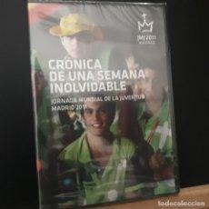 Cine: JMJ2011 MADRID. CRÓNICA DE UNA SEMANA INOLVIDABLE. JORNADA MUNDIAL DE LA JUVENTUD MADRID. 2011. Lote 230350750