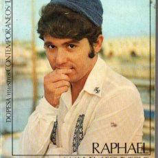 Cine: MANUEL LEGUINECHE : RAPHAEL (DOPESA, 1972). Lote 230958410