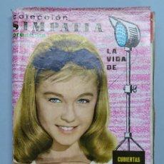 Cine: COLECCION SIMPATIA - LA VIDA DE MARISOL - COMPLETA - 28 REVISTAS CON CUBIERTA - AÑO 1962 - ... L2968. Lote 232256425