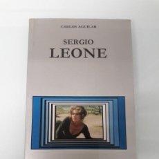 Cine: SERGIO LEONE - CARLOS AGUILAR - CÁTEDRA - SIGNO E IMAGEN / CINEASTAS Nº 2 - 1990 - CINE. Lote 262928995