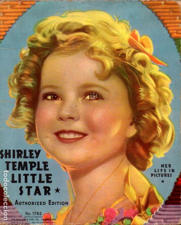 SHIRLEY TEMPLE LITTLE STAR - HER LIFE IN PICTURES (1936) (Cine - Biografías)