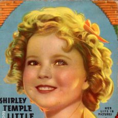 Cine: SHIRLEY TEMPLE LITTLE STAR - HER LIFE IN PICTURES (1936). Lote 233010045
